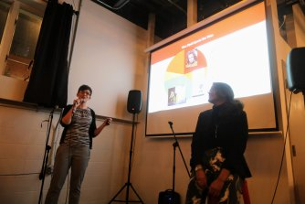 Start-up inspired dating craze 'You Should Date.ppt' has been a hit in the US.