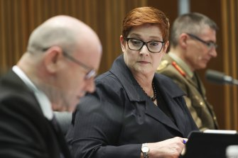 Acting Defence Minister Marise Payne said she had been well briefed on the deal.