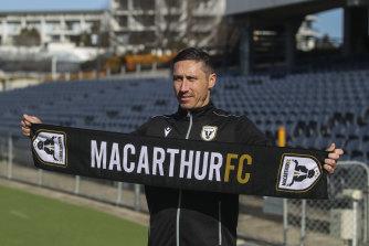 Mark Milligan will lead Macarthur FC into their first A-League season.