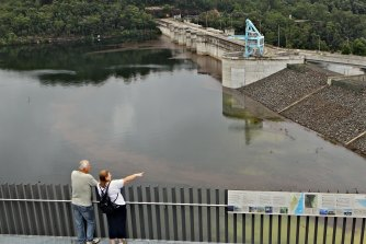 Hinted at in previous leaked information, the NSW government has formally sought to adjust the plan to raise Warragamba Dam 17 metres, not just 14 metres.