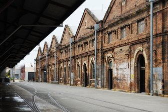 Carriageworks, the cultural centre in the historic Eveleigh rail yards, has gone into administration.
