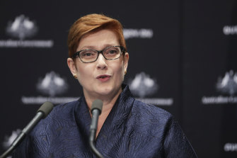 Minister for Foreign Affairs Marise Payne has expressed her reservations about the WHO.