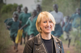 Claire Rogers when she was appointed CEO of World Vision in 2017.