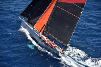 Wild Oats was damaged so severely in a recent race the crew sent a message to the race's other teams that there was a possibility the boat could go under.