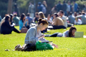 Most Queensland university campuses are seeing an increase in local enrolments to replace international students.