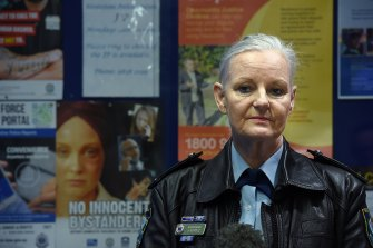 NSW Police Superintendent Jennifer Scholz said Quakers Hill police station had received an application for an AVO on April 24.