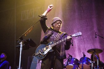 Neil Young is seeking damages of up to $US150,000 ($208,000) per copyright infringement.