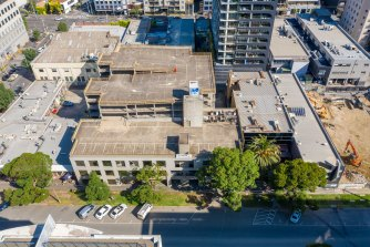 The Bank Street land includes two office buildings and a 380-bay multi-level carpark.