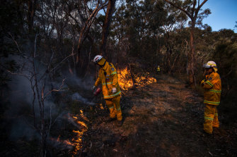 Wet weather has delayed hazard reduction burns across the state, but the RFS continues to prepare for the coming fire season.