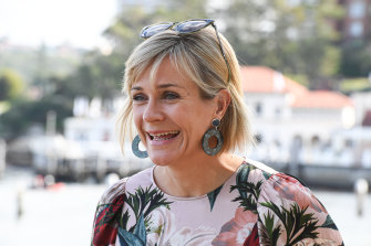 Zali Steggall at Manly Wharf after she claimed the seat of Warringah from former prime minister Tony Abbott.