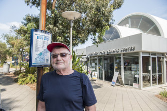 Peter Wolfe is not happy with the proposed closure of the aquatic centre.