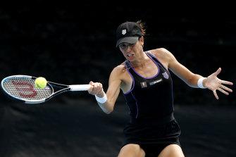 Australia's Ajla Tomljanovic has a tough opening match at the US Open.