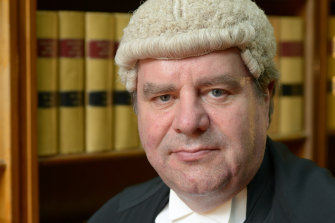 Justice Philip Priest of the Court of Appeal.