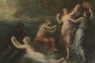 Tannhauser painting by Henri Fantin-Latour, based on Act 1 of Wagner's opera.