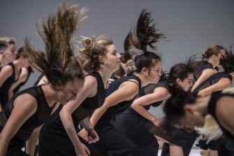 Colossus is a major dance work that is part of Sydney Festival.