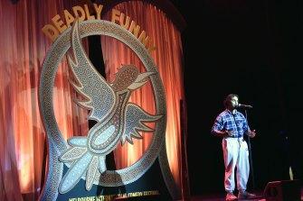 Jahmarley Dawson at Deadly Funny.