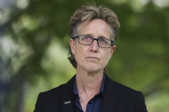 ACTU secretary Sally McManus says the new laws could allow employers to snoop on their workers.
