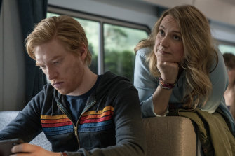 Onetime lovers Billy (Domhnall Gleeson) and Ruby (Merritt Wever) revisit an old pact.