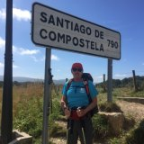 Canberra priest Richard Thompson is currently walking the famous Camino trail across northern Spain