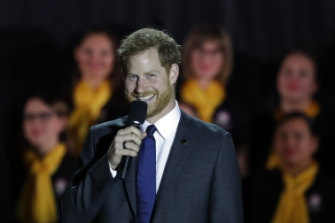 Prince Harry speaks to officially open the Invictus Games