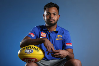 Eagles forward Willie Rioli has been provisionally suspended.