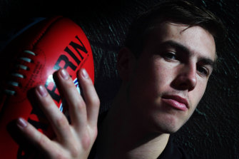 Magpie Callum Brown is finally being noticed for his pace.