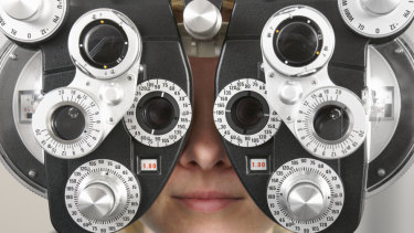 driver license eye test letters