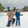 More snow to fall across Victoria but wintry blast will be shortlived