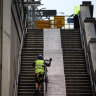 New plan for cyclists on Harbour Bridge ramping up