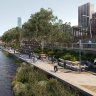 Melbourne City Council considers $300m green trail along Yarra