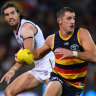 Adelaide see off Fremantle in a dour slugfest