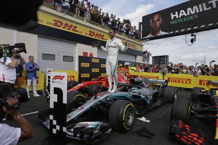 Lewis Hamilton wins French Grand Prix to retake F1 lead