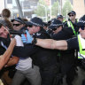 Police to review tactics after violent clashes with anti-mining protesters