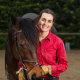 KPMG consultant Lucy Gubbins can now ride her horse every day before work.