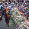 There won't be crowds at this year's Melbourne Cup carnival.