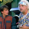 Christopher Lloyd and Michael J Fox in <i>Back to the Future</i>.