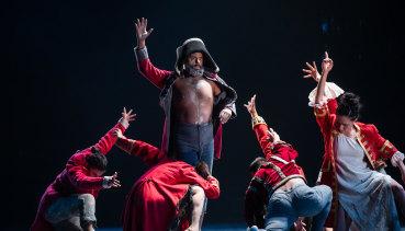 Dancers in Firestarter - The Story of Bangarra.