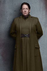 Ann Dowd as Aunt Lydia in the TV adaptation of The Handmaid's Tale.