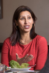 Dr Ranjana Srivastava at Samsara in Mount Waverley.