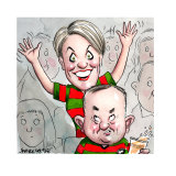 She's right behind you: Tanya Plibersek and Anthony Albanese