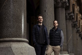 Robbie and James Ferguson, founders of Immutable.