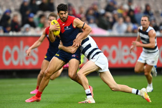 Christian Petracca produced another strong performance for the Demons.