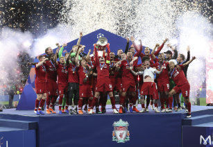 Liverpool booked a place in the Club World Cup with their Champions League victory.