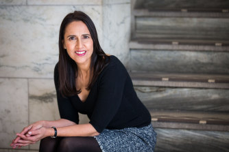 Journalist and author Alicia Young.