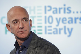 Last year, Amazon chief Jeff Bezos contributed $US10 billion of his own money to set up the Earth Fund.