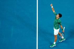 Novak Djokovic claims the Australian Open title – again.