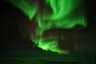 The Southern Lights.