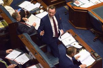 WA Premier Mark McGowan enjoys a crushing majority in both houses of Parliament.