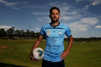 Milos Ninkovic will likely remain a Sky Blue for the remainder of his playing career.