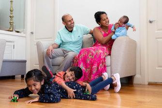 Shameela Karunakaran and Julian Rayappu had their three children thanks to science.